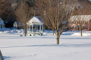 Gazebo in Snow, Townshend, VT